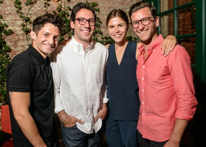 Nick Axelrod, Emily Weiss, Neil Blumenthal, Dave Gilboa